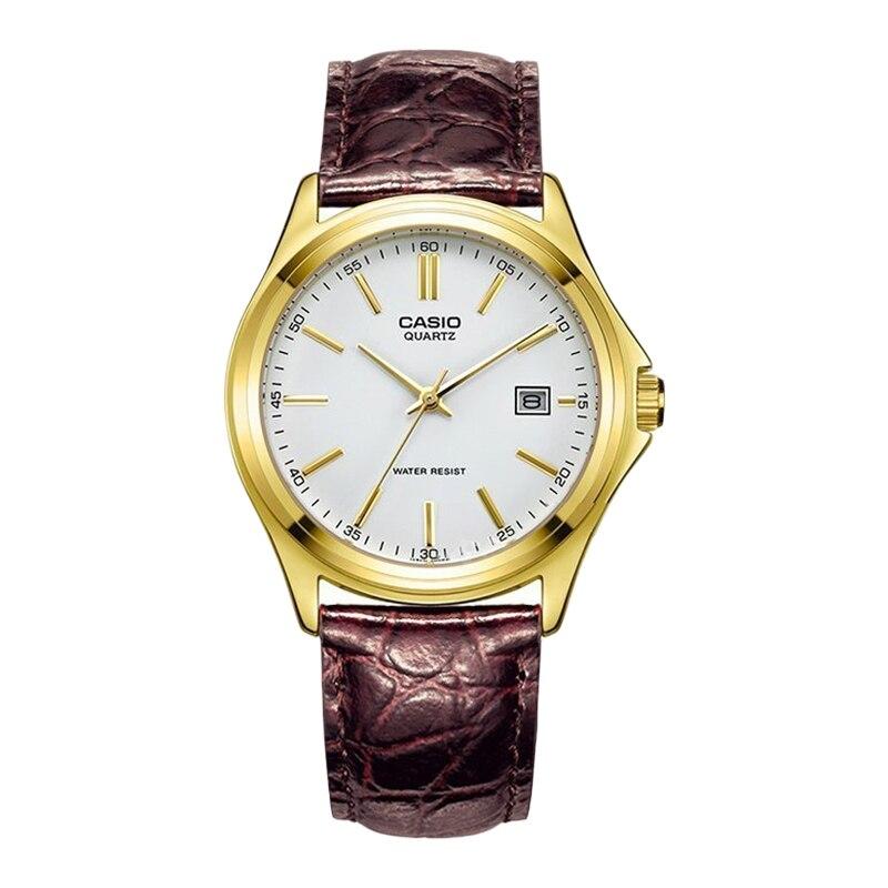 Casio Watch Pointer Men's Watch Gold Case Quartz Watch MTP 1183Q 7A