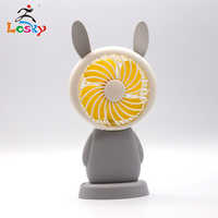 Operated Cute Mini Desk Fan, Portable Personal Table Fan, Small Handheld Electric Cooling Fan for Office, Outdoor Camping