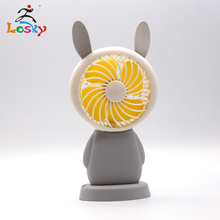 Operated Cute Mini Desk Fan, Portable Personal Table Fan, Small Handheld Electric Cooling Fan for Office, Outdoor Camping unique led love pattern handheld mini fan super mute battery operated for cooling cute