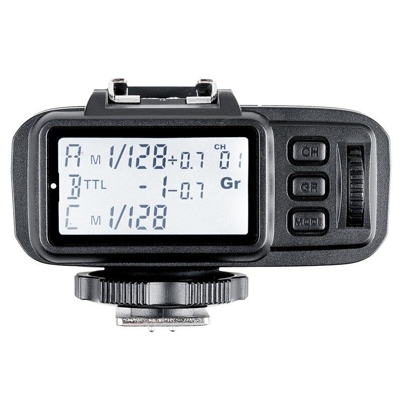 Godox X1T-S TTL 2.4G Wireless Trigger Transmitter for Sony DSLR Cameras with MI ShoeGodox X1T-S TTL 2.4G Wireless Trigger Transmitter for Sony DSLR Cameras with MI Shoe