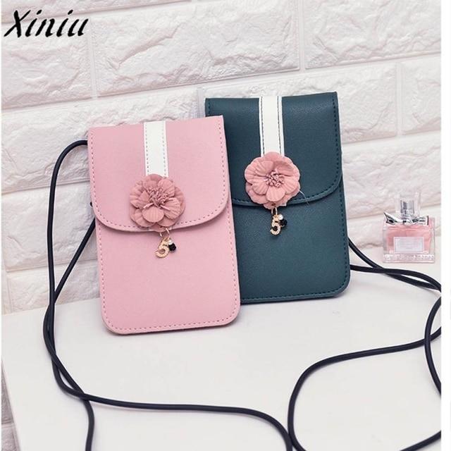 077bb1a0c3 2019 Hot Sale Women Bag Fashion Handbag Flowers Shoulder Bag Small Body Bags  Clutch Mini Pouch Women's Handbags Leather Clutch