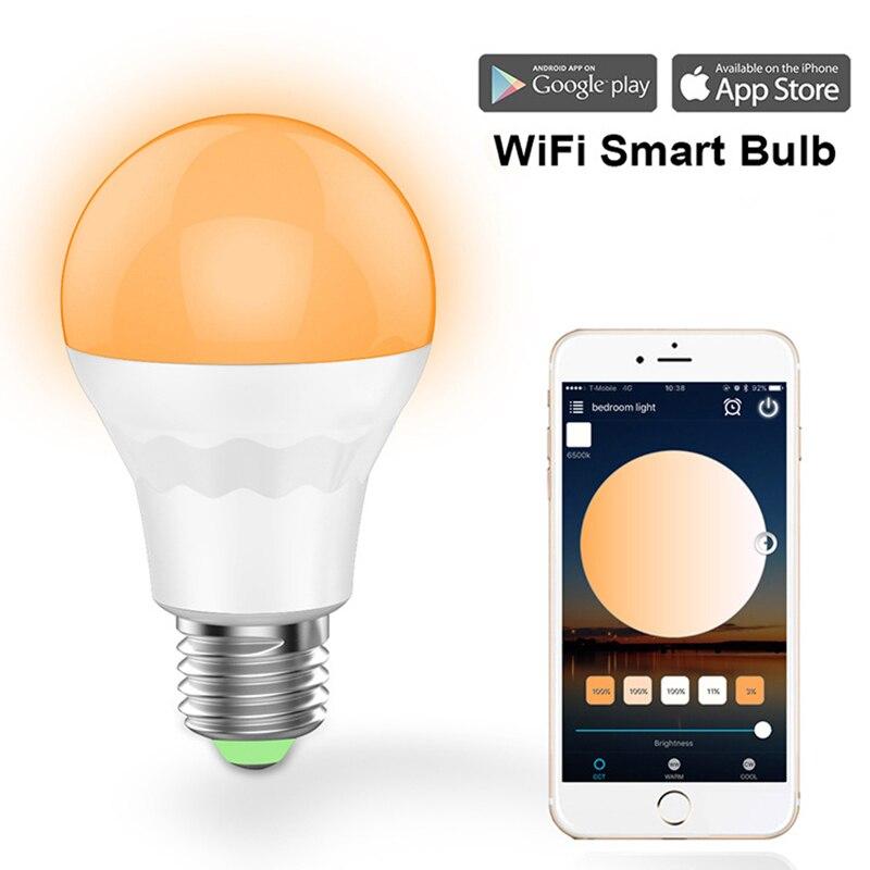 ZINOU smart led blub licht B22 E27 enkele kleur wit Led Blub for a Thuis Bajonet Lamp ontmoette Afstandsbediening Lamp AC100-264V