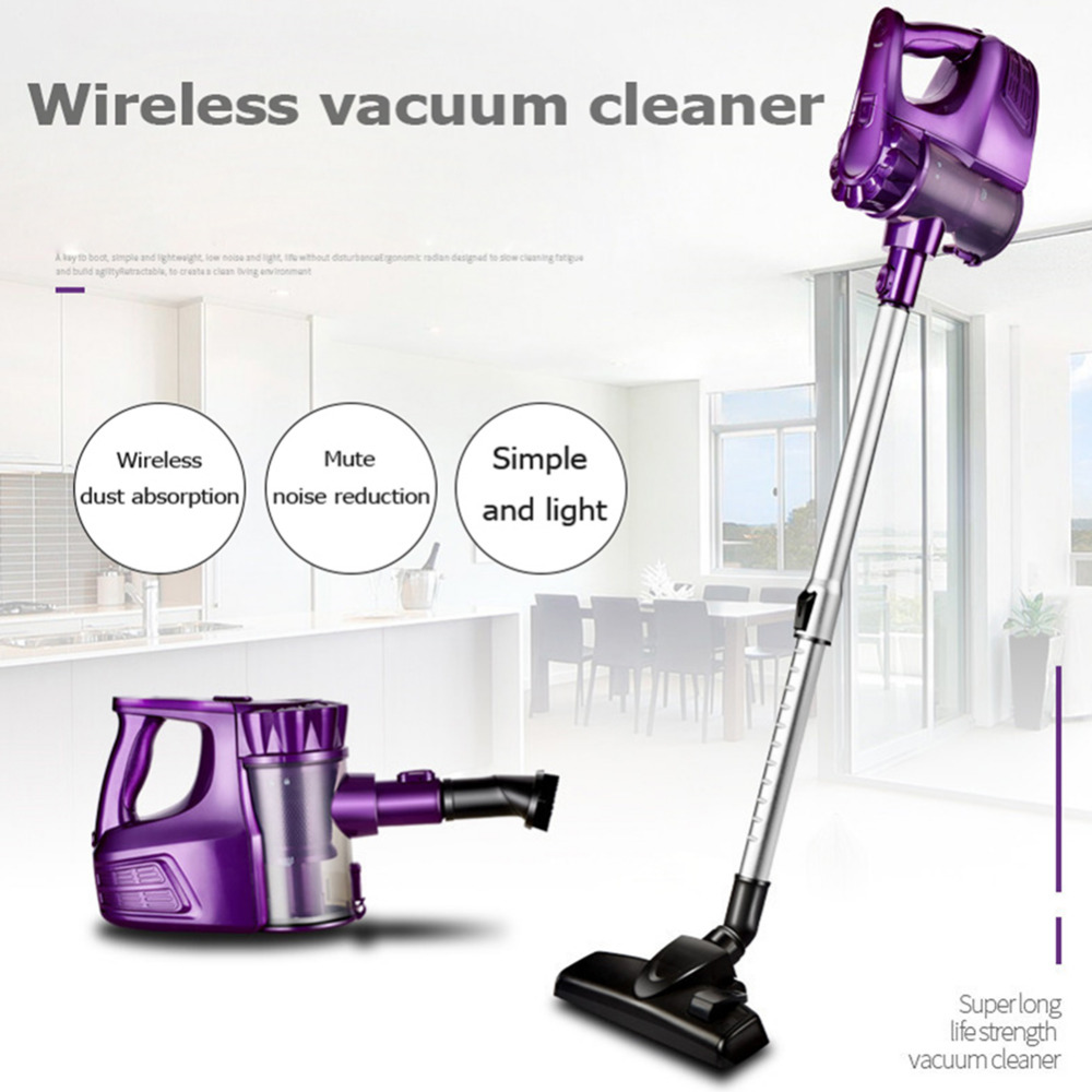 2 in 1 Wireless Handheld Vacuum Cleaner Upright Vacuum Cleaner Dust Collector Home Sweeper Cleaning Aspirator Machine