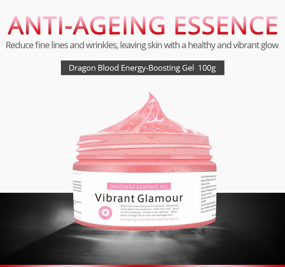VG Bright Dragon Blood Clear Essence Dew Wrinkle Moisturizing Cream Replenishment Mask Fade Spot Print Skin Care Serum TSLM1