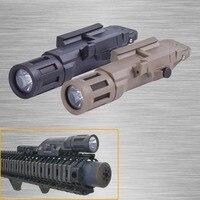 New WMLX Version Tactical Weapon Light Multifunction Waterproof Flashlight Gun Lamp Fit 20mm Rail Free Shipping