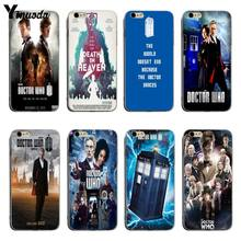 Yinuoda BBC TV Acara Dokter Yang Lembut Silicone Coque Cover Case untuk iPhone X XS XR Xsmax 5 5 S se 8 8 PLUS 7 7 Plus 6 S 6 S PLUS(China)