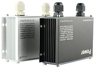 12V 2A 24W Outdoor Rainproof Power Adapter Supply for CCTV Camera Black (default) autoeye cctv camera power adapter dc12v 1a 2a 3a 5a ahd camera power supply eu us uk au plug