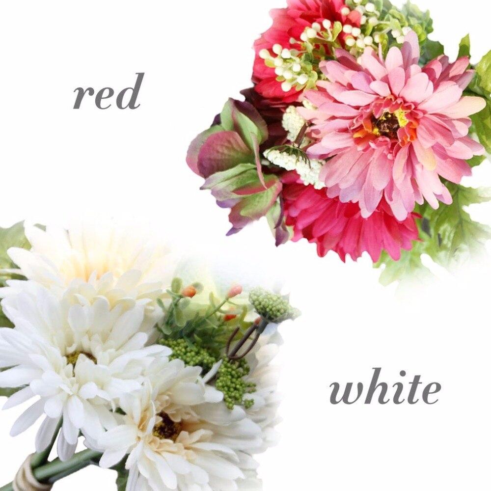 African Daisy High Simulation Flowers Floral Arrangement Sitting