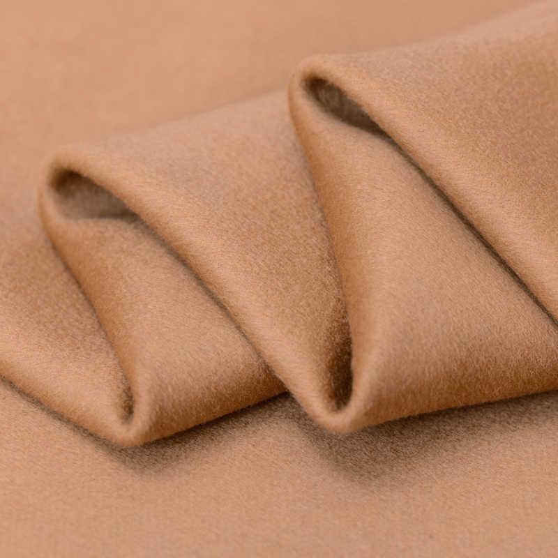 Верблюд Двусторонняя кашемировые ткани высокого класса двойной кашемировой ткани пальто для кашемировая шерсть ткани оптом кашемир ткань