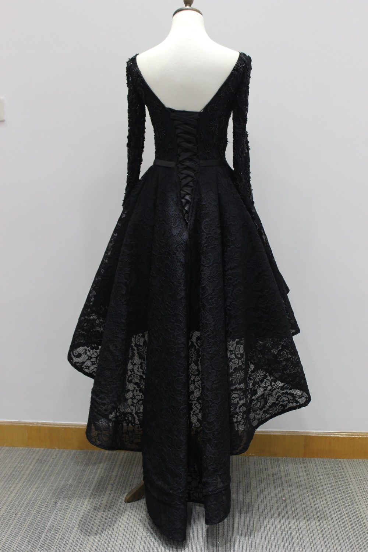 black long sleeves dresses
