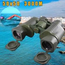 50X50 Optical Telescope Binoculars High quality Match Coordina Clarity 3000M Waterproof Power Definition Outdoor Hunting