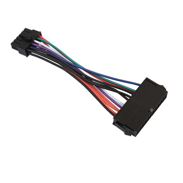 Carprie Высокое качество 15 см ATX 24 Булавки до 12 Булавки Питание кабель 24 P до 12 P шнур для Acer q87H3-AM челнока Булавки G 18Mar30