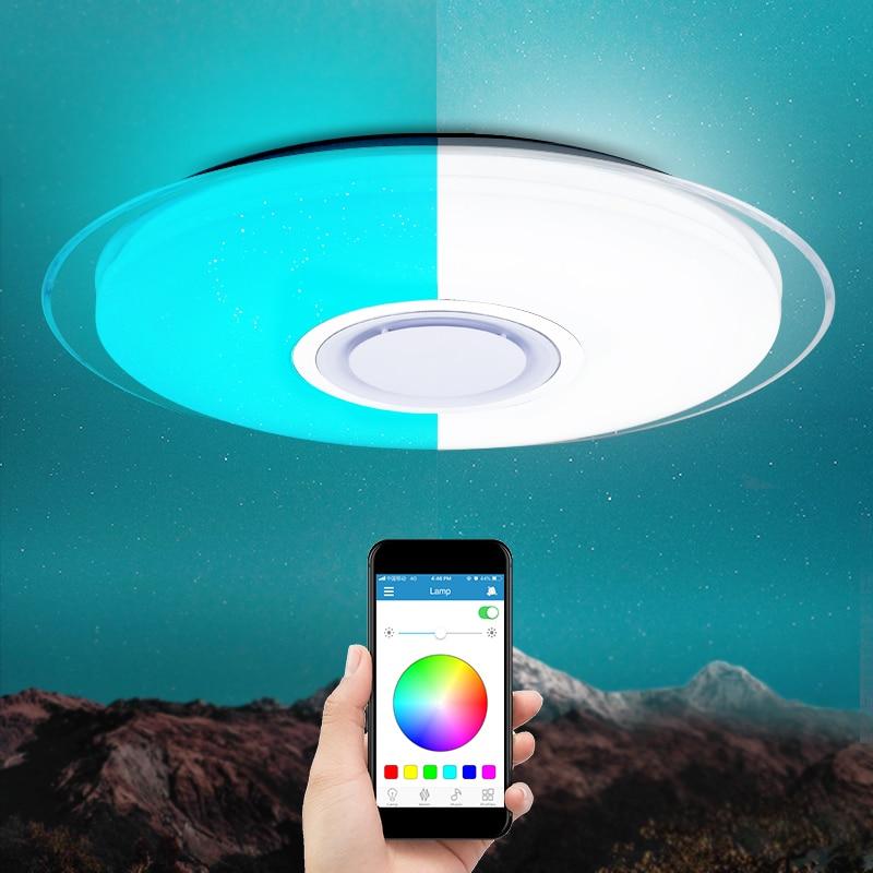 Moderne LED-loft Lights Fjernbetjening Dimbar 25W 400mm 60W 550mm - Indendørs belysning