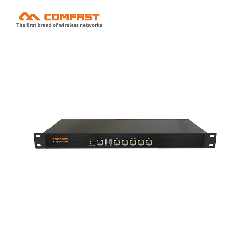 2017 AC gateway controller MT7621 880Mhz Core Gigabit Gate way wifi project manager with 4*1000Mbps WAN/LAN 2*usb ports CF-AC200 wifi project manager comfast ac200 full gigabit ac authentication gateway routing for multi wan access wireless roaming gaterway