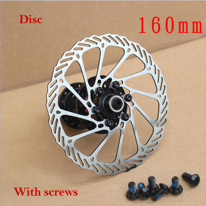 160mm  Mountain Bike Bicycle Mechanical Disc Brake Rotor With 6 Bolts For G3-A