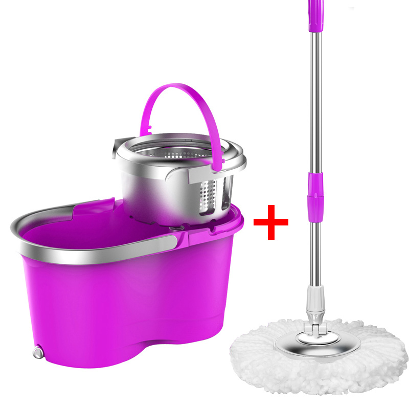 360 Rotating Mops Kitchen Floor Cleaning Portable