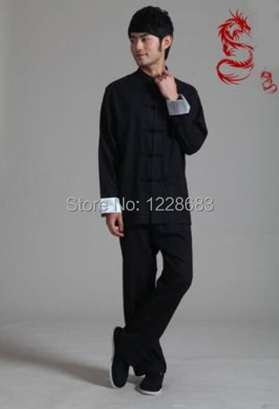 Women men s Chinese Traditional Cotton Tai Chi Clothes Male Tang Uniformes De Artes Marciais Kung