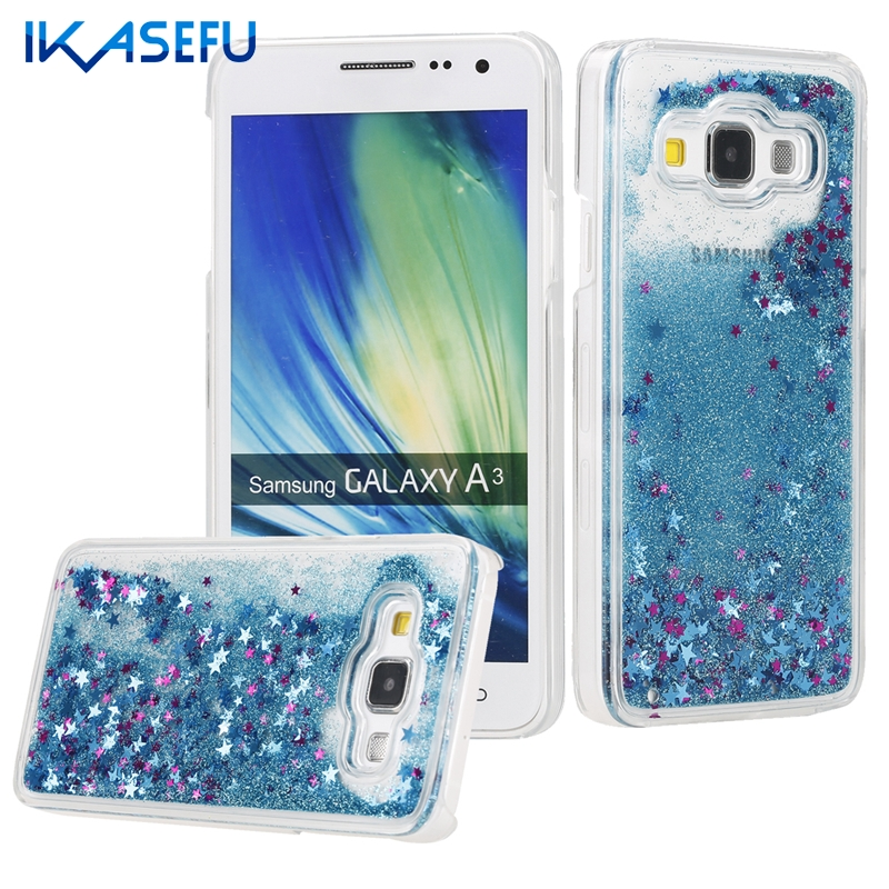 fundas for samsung a3 hard bling case for coque samsung galaxy a3 2015 a300 a300f glitter. Black Bedroom Furniture Sets. Home Design Ideas