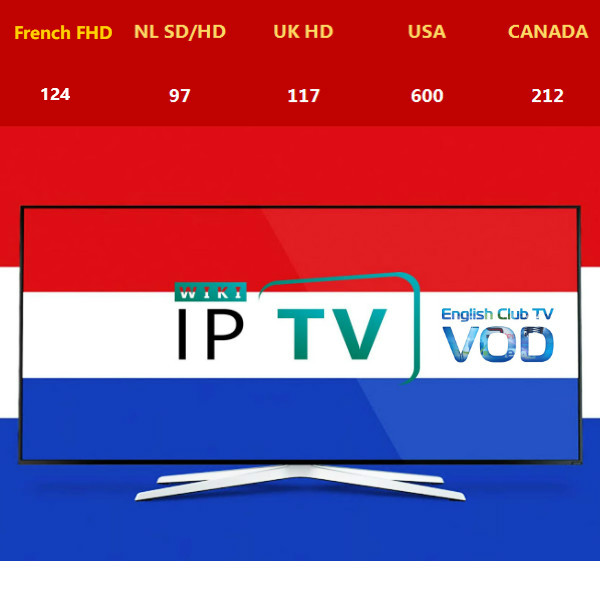 Netherland IPTV Dutch IPTV Halland IPTV h.265 Live VOD m3u Android Stalker Smarttv UK USA CANADA IPTV for android-in Set-top Boxes from Consumer Electronics