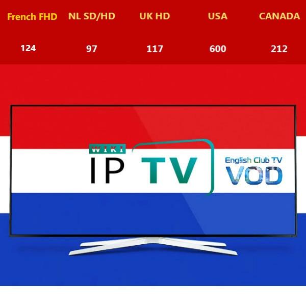 Netherland IPTV Dutch IPTV Halland IPTV H.265 Live VOD M3u Android Stalker Smarttv UK USA CANADA IPTV For Android