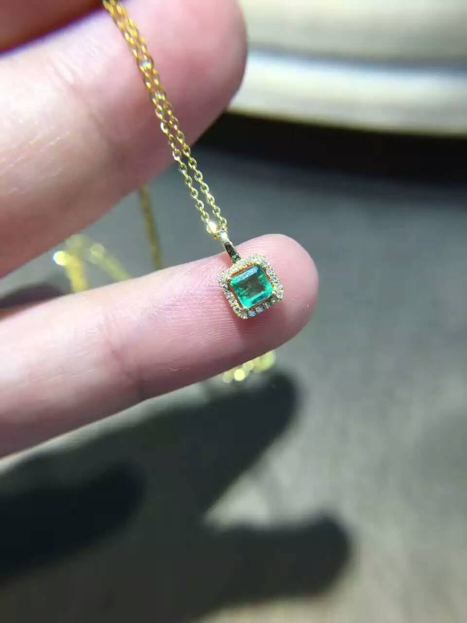 Details about  /Natural Green Emerald Gemstone Sterling Silver 925 Gold Plated Ring Jewelry