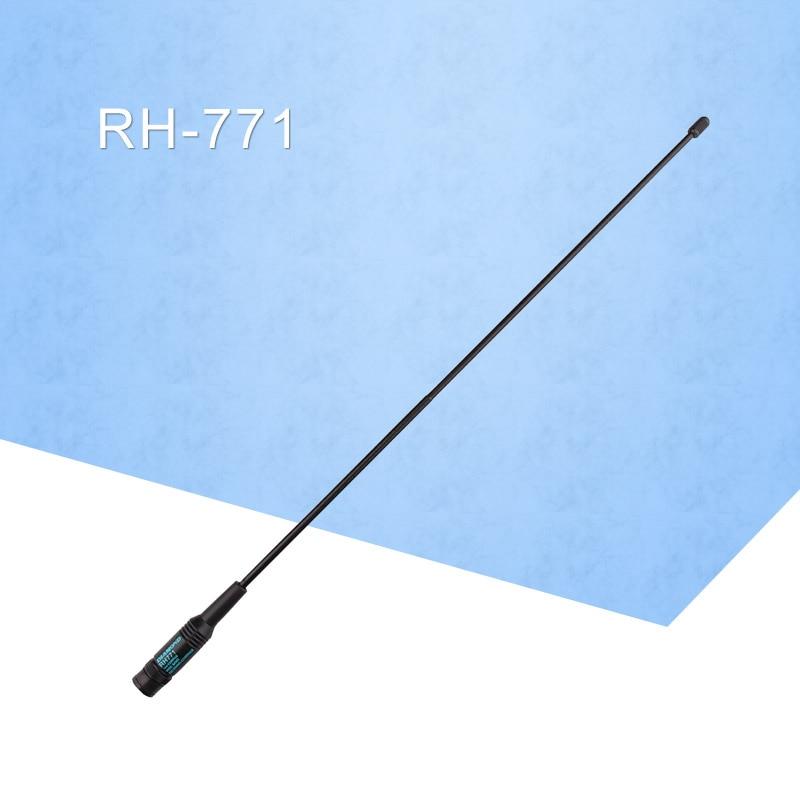 General Diamond RH-771 144/430MHz SMA-M Antenna For BaoFeng /Kenwood /Wouxun /TYT /Puxing Handheld Two Way Radio Walkie Talkie