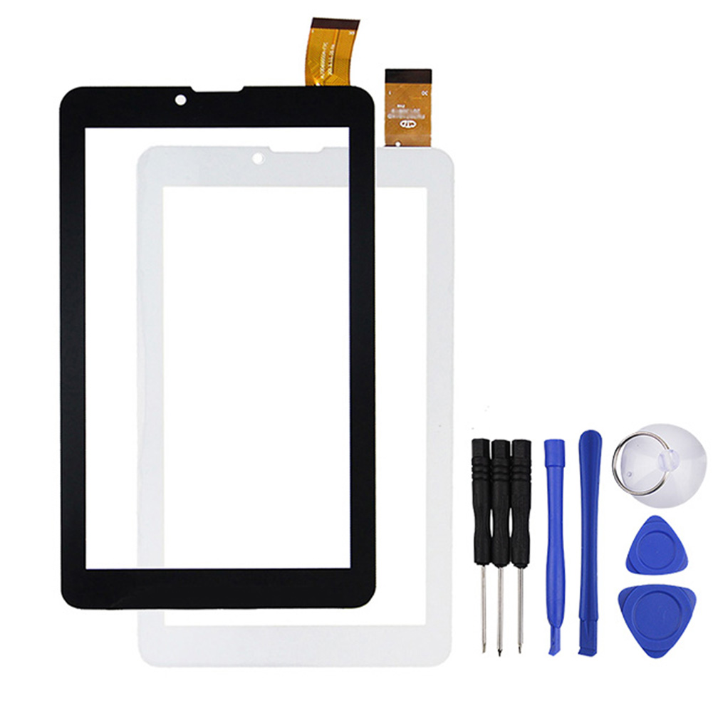 New for  VI7 3g 7 inch Touch Screen Glass Panel Digitizer Sensor Lens Free Shiping 50pcs high quality 4 7 for lg l90 d410 dual sim card touch screen digitizer sensor glass lens panel black white free shipping