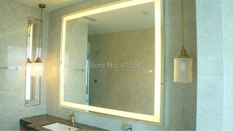 Light Mirror Touch Switch Bathroom Smart Mirror Switch LED Touch Controller On Mirror Surface HOT SALES For Hotel Bathroom light mirror touch switch bathroom smart mirror switch led touch controller on mirror surface hot selling for hotel or bathroom