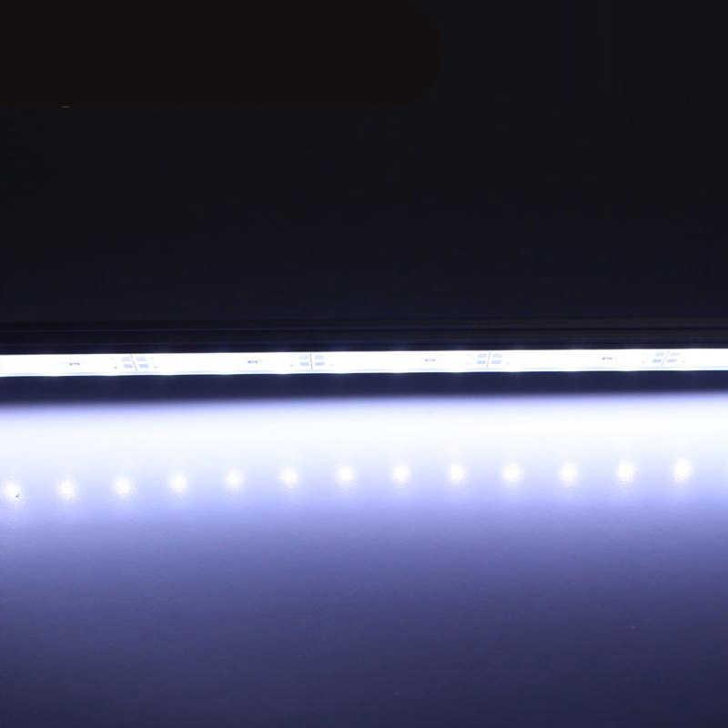 10 шт. 30 см 5630 DC12V Жесткий Газа жесткая с u канала shell Алюминиевый Профиль Свет Кабинета свет