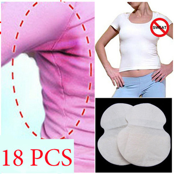 18pcs Absorb Sweat underarm pads for sweating armpits antiperspirant deodorant for women men no perfume spirits tape Stickers no sweat under arms
