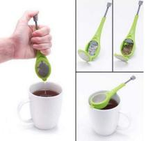 Tea Infuser Built-in plunger Healthy Intense Flavor Reusable Tea bag Plastic Tea&Coffee Strainer Measure Swirl Steep Stir&Press цена
