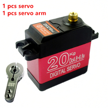 цены на Free Shipping DS3218 RC servo 20KG  metal gear digital servo Aluminum shell baja servo usual Waterproof version for baja cars  в интернет-магазинах