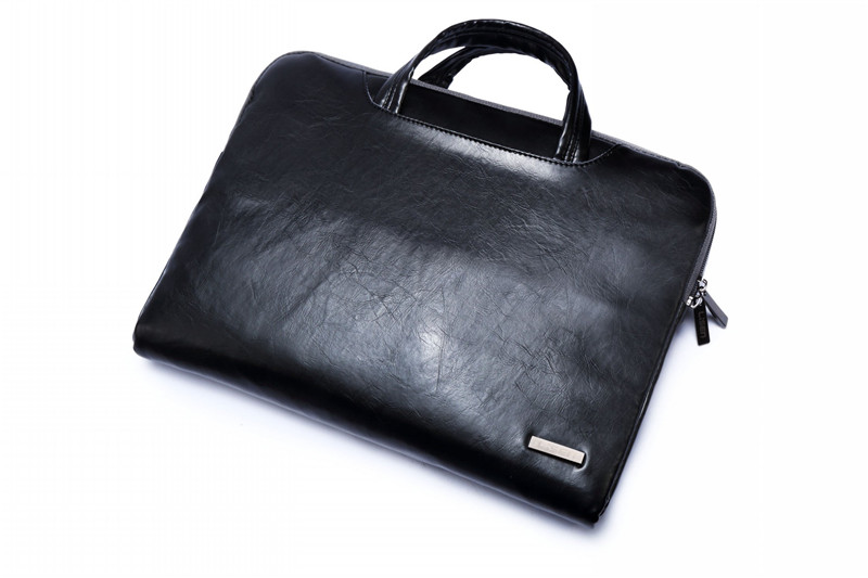 """Image 2 - 2019 New Brand Lisen Leather Handbag Bag For Laptop 11"""",13"""",15"""",15.6 inch,Case For MacBook Air,Pro 13.3"""",15.4""""Free Drop Shipping-in Laptop Bags & Cases from Computer & Office"""