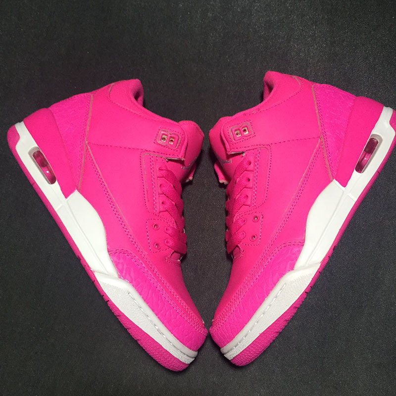2018 Women basketball shoes 2018 sneakers running retro Sports white pink trainers leath ...
