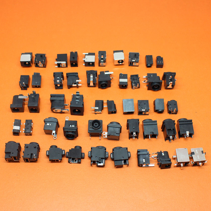 Sample package:50models,100pcs Tablet PC MID/Laptop DC Power Jack Connector for Samsung Asus Acer Dell Lenovo