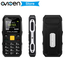 Smallest Mobile Phone Melrose S10 Big Voice 1 Inch Tiny Screen Flashlight Mini Rugged Shockproof Mini Cellphone PK S9 M18(China)