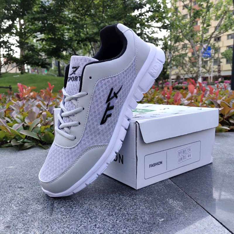 New Men Designer Sneakers Rubber Shoes Men Breathable Men Vulcanize Shoes Male  Air Mesh Krasovki