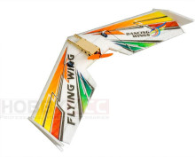 Free shipping RC Plane EPP fixed-wing electric DW HOBBY Mini Rainbow EPP 600mm Wingspan FPV Flying Wing RC Airplane Kit