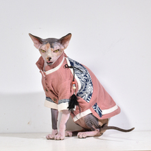 Cat Hoodie Breathable and Comfortable Hanfu Pet Dog Clothing Ropa Para Gato Costume  Hairless Sphinx