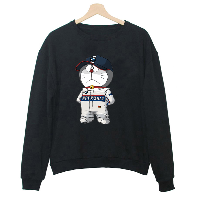 Women Winter Sweatshirt Pullover Japanese Anime Doraemon ...