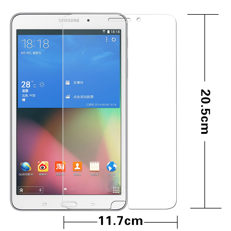 Película de vidrio templado de primera calidad para Samsung Galaxy - Accesorios para tablets