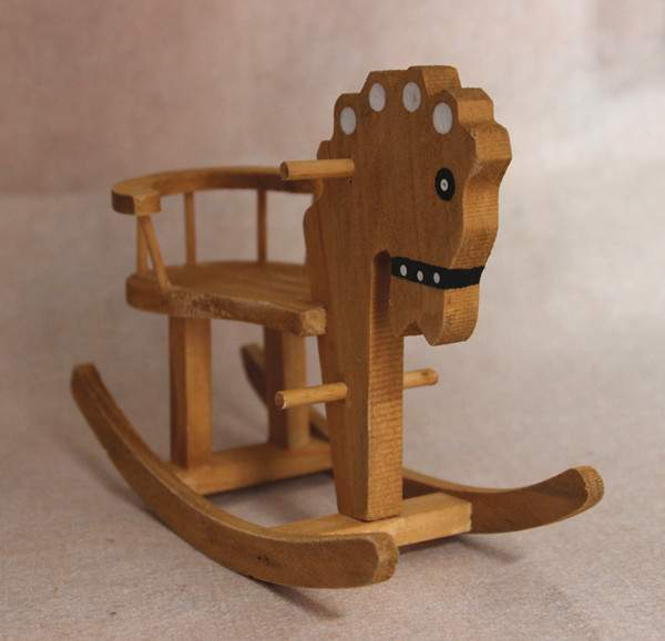 Online buy wholesale wooden rocking horse from china for Wholesale wood craft cutouts
