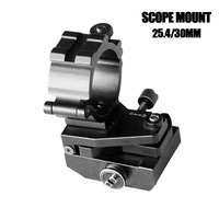Drop shipping Rifle Scope Mount Accessories Adjustable 25.4mm and 30mm Picatinny Weaver Rail AK Scope Mount