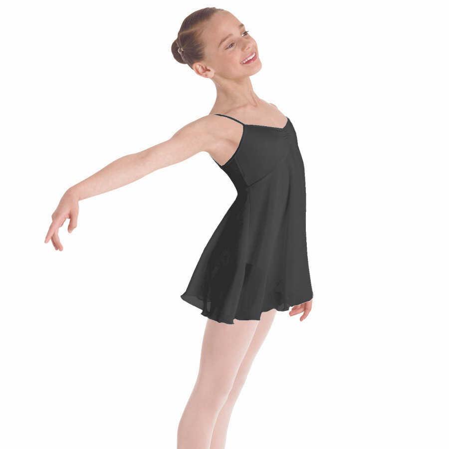 d8e289a631d0 Ballet dress for girls empire lyrical dress camisole chiffon dance skirt  high waist ballerina dress kids