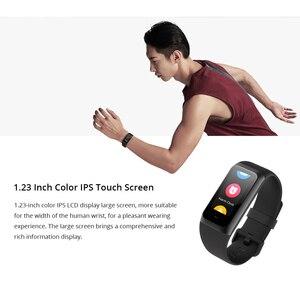 Image 4 - Amazfit Band Cor 2 умные часы, 5ATM, водонепроницаемые, 2.5D цветные, из нержавеющей стали, для Android, IOS, Huami, smartwatch, браслет