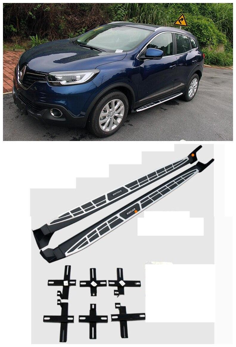 For Renault Kadjar 2016.2017 Car Running Boards Auto Side Step Bar Pedals HIGH QUALITY Brand New Cayenne Design Nerf Bars