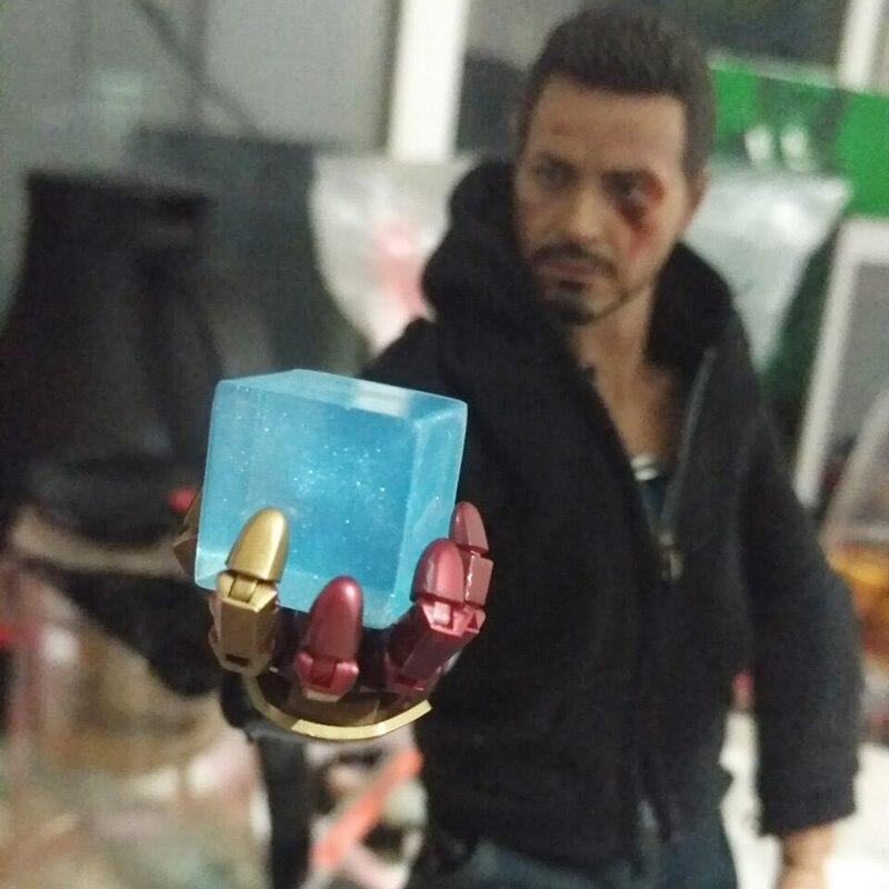 Marvel Loki Cosmic Cube per Gli Uomini Cosplay Prop Incandescente Cubi Regalo Creativo per il Natale di Halloween Per Adulti