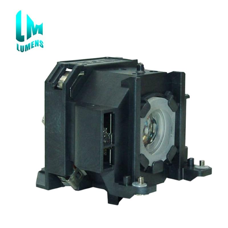 ELPLP38 лампы проектора совместимы лампы с корпуса для EPSON EMP-1700 1705 1707 1710 1715 1717 180 дней гарантии