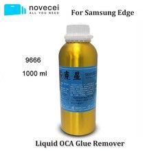 משלוח חינם על ידי אקספרס 9222 9555 9666 OCA דבק Remover עבור Samsung S7 קצה S8 הערה 8 s6 קצה בתוספת מעוקל מסך דבק הסרת