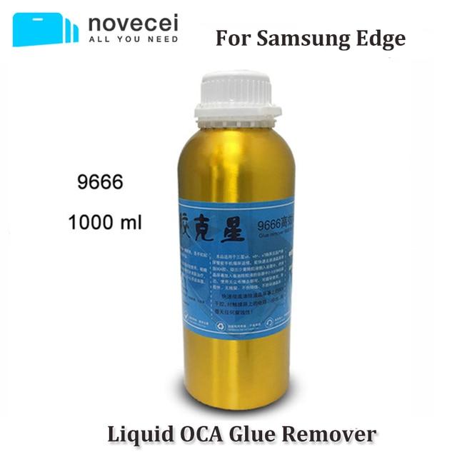 Livraison gratuite par EXPRESS 9222 9555 9666 OCA dissolvant de colle pour Samsung S7 edge S8 Note 8 s6 edge plus écran incurvé colle enlever